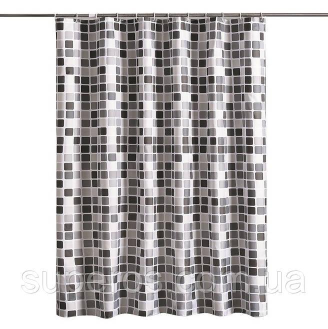 Тканевая шторка для ванной 180х200 см Mosaic