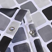 Тканевая шторка для ванной 180х200 см Mosaic, фото 4