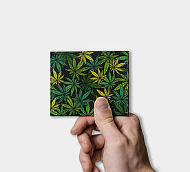 Кошелек Paper Lab Weed   Tyvek