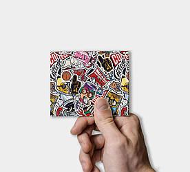 Кошелек Paper Lab Sticker bomb   Tyvek