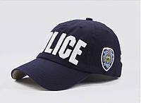 Кепка бейсболка Police (Полиция) Синяя 2, Унисекс, фото 1