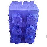 Пиньята лего lego голова бумажная для праздника Піньята лего конструктор голова паперова на день народження, фото 10