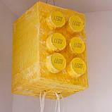 Пиньята лего lego голова бумажная для праздника Піньята лего конструктор голова паперова на день народження, фото 7