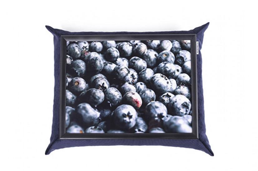 Піднос з подушкою Чорниця