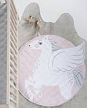 Ковдра килимок в дитячу кімнату Єдиноріг, фото 3