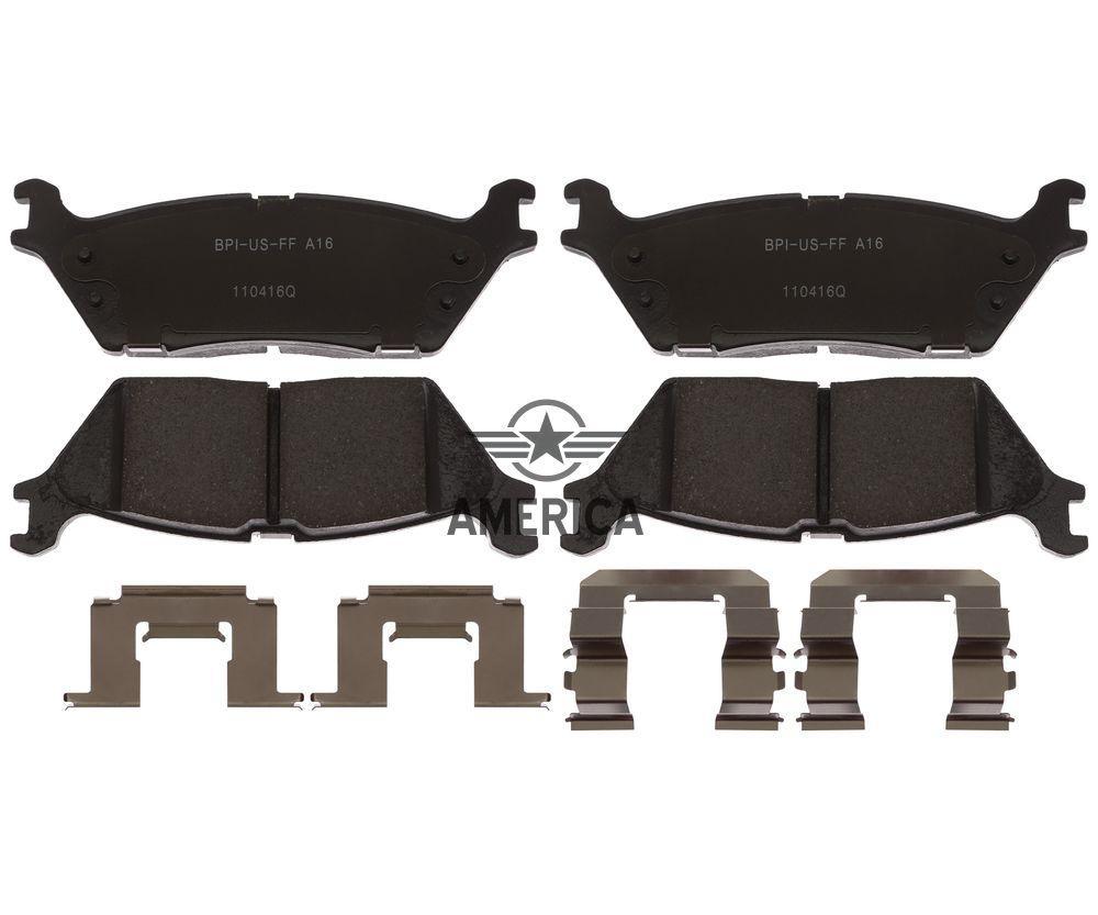 Колодки тормозные задние w/ Electronic parking brake RAYBESTOS MGD1790CH Ford Expedition Ford F-150