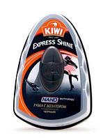 Губка блеск с дозатором черная KIWI