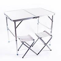 Стол складной World Sport для кемпинга туристический и 2 стула 906070/55 см SKL83-281736