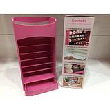 ̊ Органайзер для косметики Cosmake вертикальный Lipstick And Nail Polish розовый M11-187046, фото 3