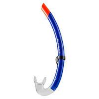 Трубка для дайвинга без клапана синяя Dolvor SKL83-281773