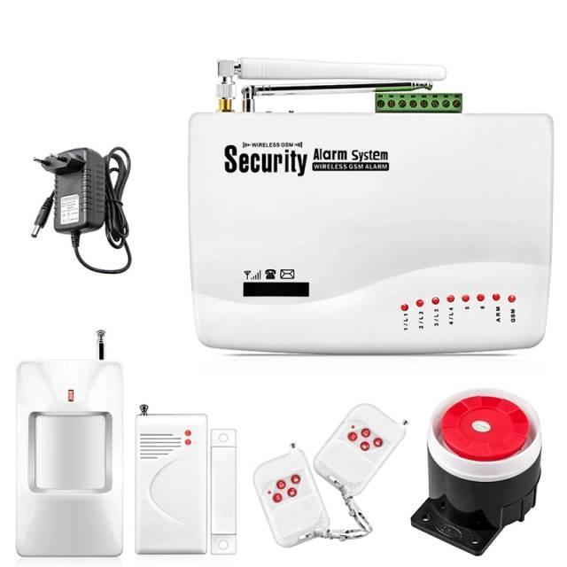 Охранная GSM сигнализации GSM Alarm System G10A управления через приложение (IIDLLF89FJV)