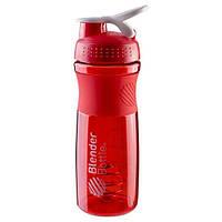 Шейкер спортивный Blender Bottle красный 760мл SKL11-281944