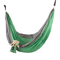 Гамак Green Camp Canyon из парашютного шелка 310х220 см SKL83-281040