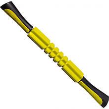 Масажер роликовий ручний PowerPlay Massage Bar 4024 Жовтий M24-143733