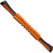 Масажер роликовий ручний PowerPlay Massage Bar 4024 Оранжовий M24-143732