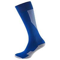 Гетры World Sport детские/подростковые синие с махровым носком размер 34-39 SKL83-281080