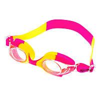 Очки для бассейна детские и подростковые розовые Sainteve 4600 SKL11-282839