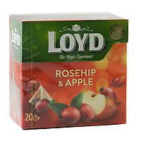 Чай Loyd шипшина та яблуко 20x2 40г