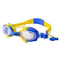 Окуляри для басейну дитячі та підліткові сині Speedo S66 SKL11-282842