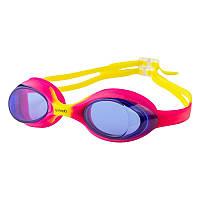 Очки для бассейна детские розовые Speedo 1300 SKL11-282830