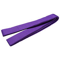 Пояс для кимоно World Sport сиреневый 280 см SKL83-281531