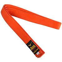 Пояс для кимоно оранжевый Mizuno 270 см SKL83-281543
