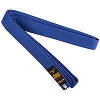 Пояс для кимоно синий Mizuno 270 см SKL83-281545