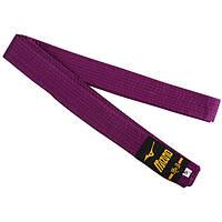 Пояс для кимоно фиолетовый Mizuno 270 см SKL83-281547
