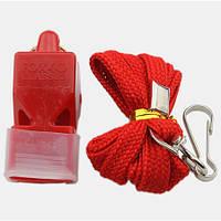 Свисток World Sport Fox 40 пластик на шею красный SKL83-281637