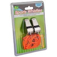 Свисток World Sport спортивный металл 2 шт SKL83-281642