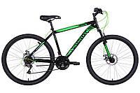 "Велосипед 26"" Discovery RIDER DD 2021 (черно-зеленый )"