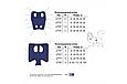 Післяопераційна попона №0 для кішок і собак синя, фото 4
