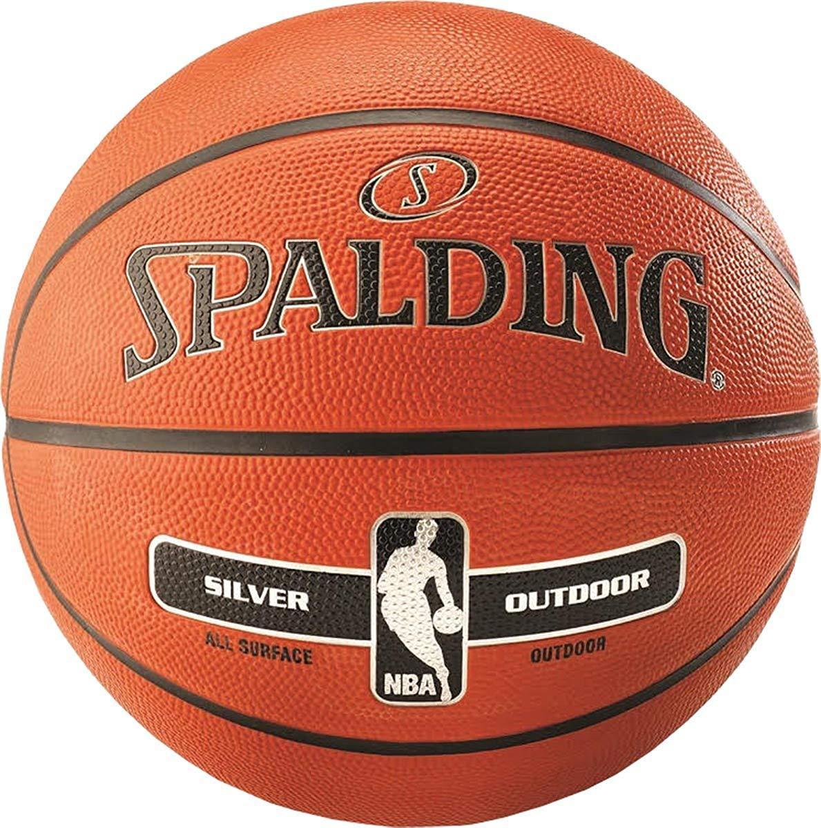Мяч баскетбольный Spalding Nba Silver Outdoor Size 7 M41-238017