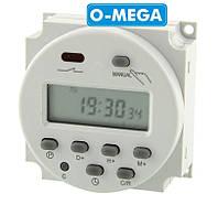 Таймер для инкубатора недельный YP109A программируемый многофункциональный
