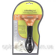 Фурминатор для довгошерстих собак від 9 кг до 23 кг, FURminator для собак M