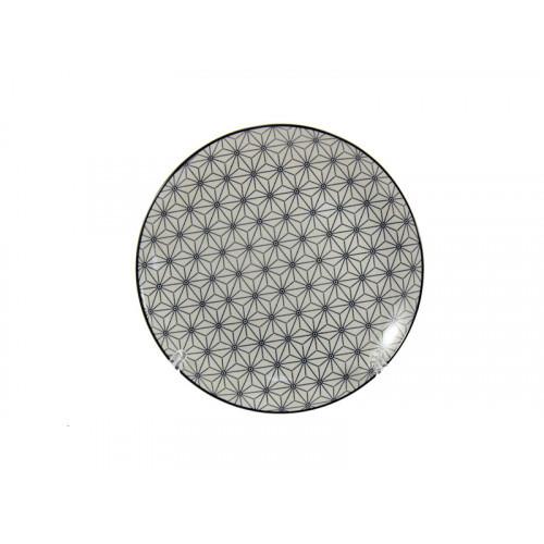 Тарелка закусочная Interos Вуаль №8 20 см CLW-9