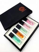 Подарочный набор мини-парфюмов Versace for women 5 по 15 мл TOPfor