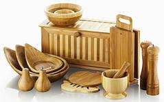 Посуда и изделия из бамбука.