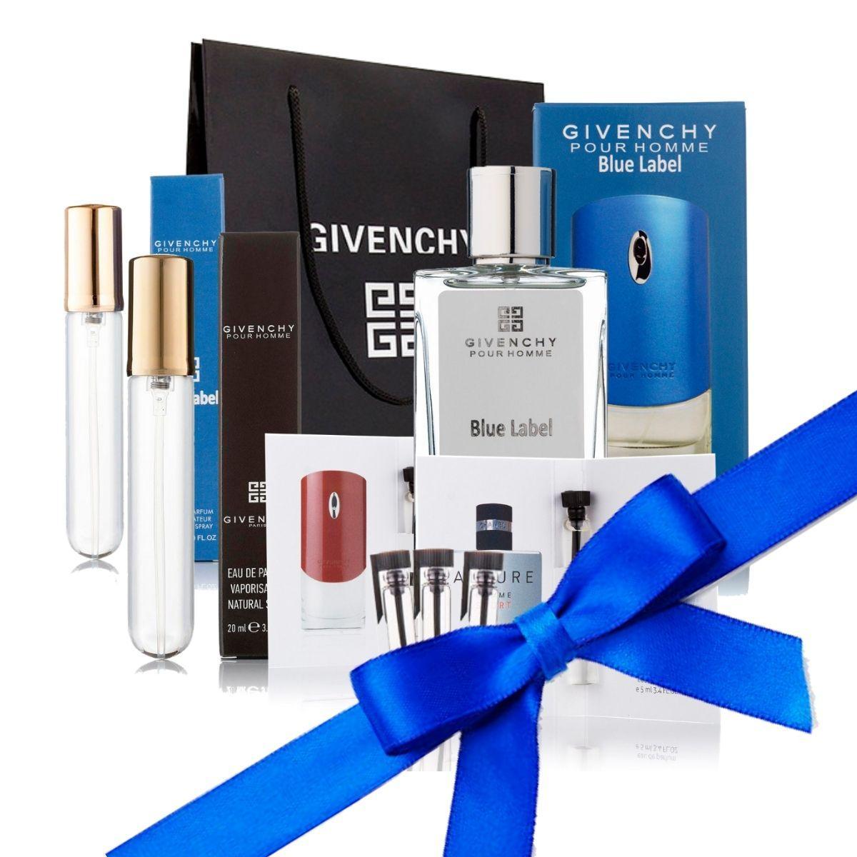 Подарочный набор Gvenchy в брендовом пакете TOPfor