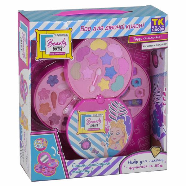 Детская косметика для девочек декоративная в шкатулке-косметичке для макияжа от 3 лет (57132)