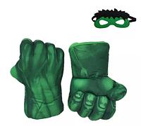 Кулаки Халка с маской ABC детские мягкие