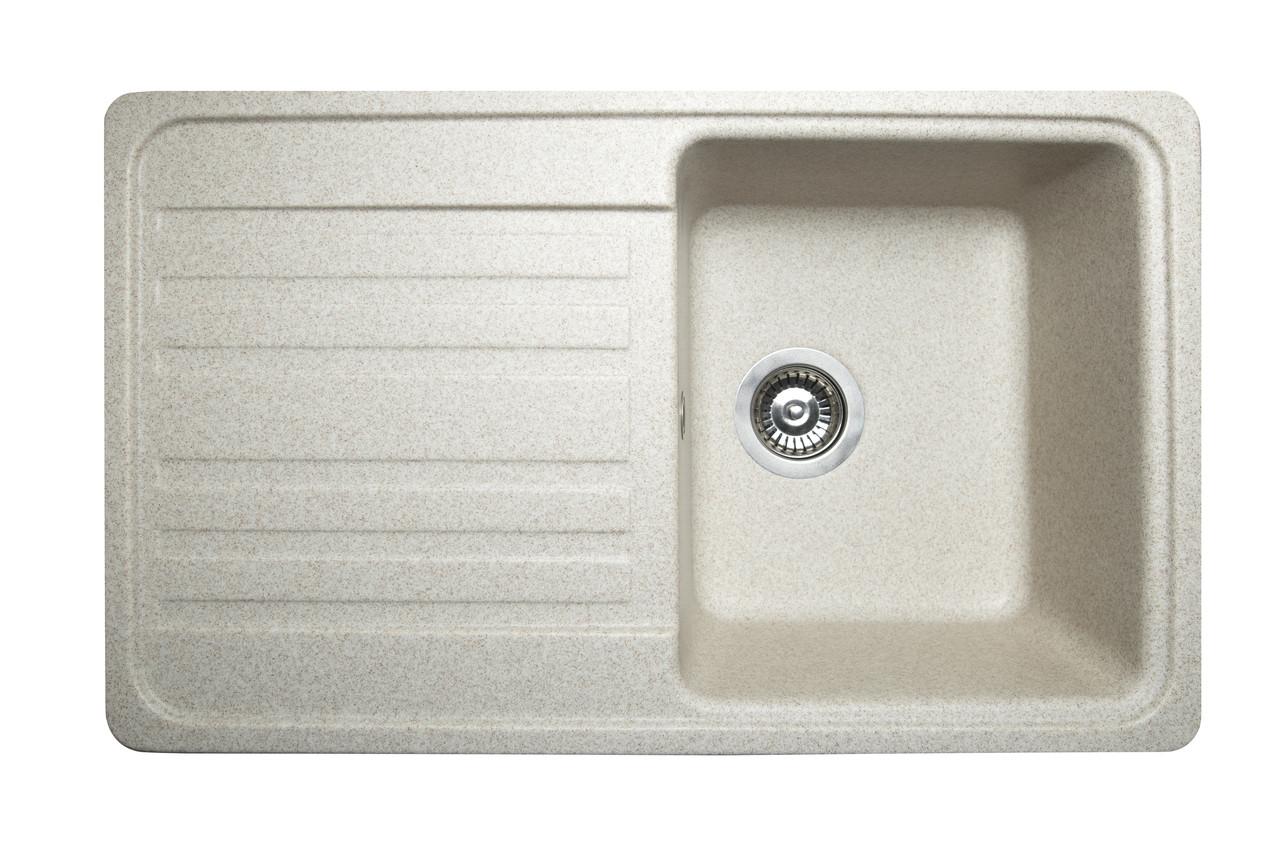 Кухонна мийка гранітна MIRAGGIO VERSAL sand