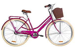 """Велосипед 28"""" Dorozhnik COMFORT FEMALE планет. 2020 (фиолетовый)"""