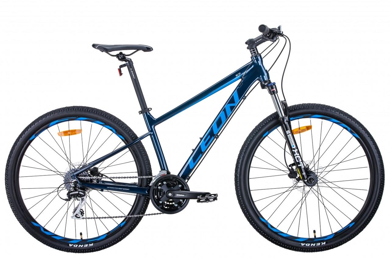 """Велосипед 27.5"""" Leon XC-80 2020 (синий)"""