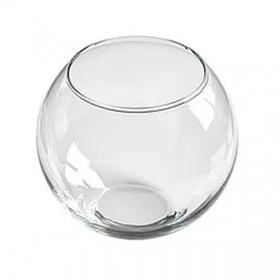 Декоративный аквариум круглый 120х150 мм для рыбок 1,2л Пет Импекс 24018