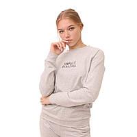 Женский свитшот Teamv Simple 2 Серый S
