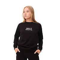Женский свитшот Teamv Simple 2 Черный L