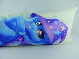 Подушка обнимашка Дакимакура 150 х 50 Трикси ( Trixie ) для обнимания аниме ростовая двухсторонняя, фото 3