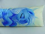 Подушка обнимашка Дакимакура 150 х 50 Трикси ( Trixie ) для обнимания аниме ростовая двухсторонняя, фото 4