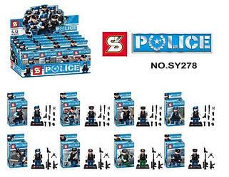 Конструктор POLICE  4 видів SY278